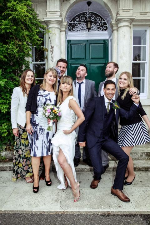 wedding group shots, hertfordshire wedding photographer