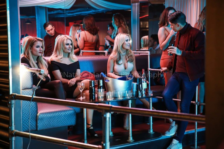 TV & event photography - On set with TOWIE